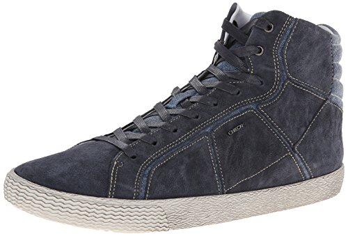 Geox Menns U Smart 37 Mote Sneaker Navy