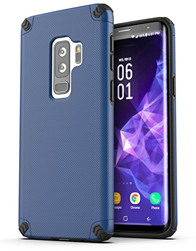 Galaxy S9 Plus Case, Encased [Nova Series] Dual Layer Protective Case for Samsung Galaxy S9+ (2018 Release) Blue