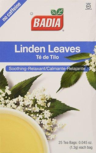 Badia Linden Leaves (2 Pack)50 Bags (Te De Tilo) - Badia Tea