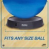 URBNFit Exercise and Balance Ball Base 4 Piece