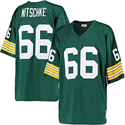 Image Unavailable. Image not available for. Color  Ray Nitschke Packers  Jersey L 6d444e669