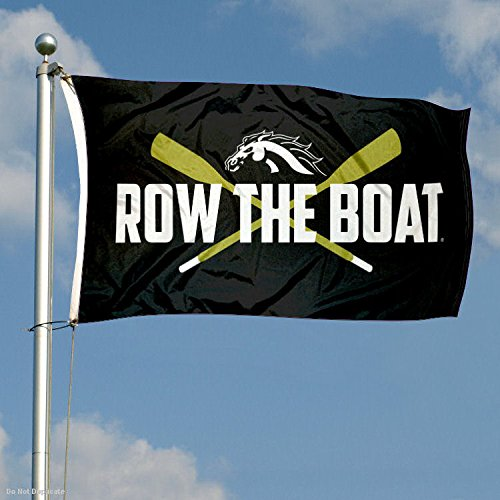 College Flags and Banners Co Western Michigan Broncos Row The Boat Flag