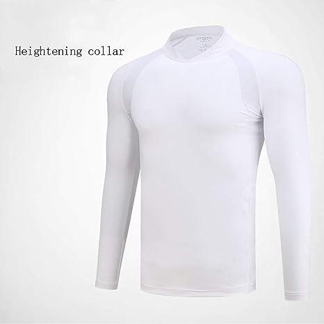 Mhwlai Camiseta de Manga Larga de Golf para Hombre, Ropa Protectora, Camisa de Seda de Hielo Transpirable, Ropa Deportiva de Verano, Aire Libre para Hombres: Amazon.es: Deportes y aire libre