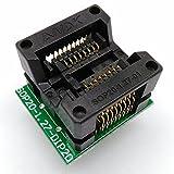 SOP16 SOIC16 SO16 To DIP16 Programming Socket Pitch 1.27mm IC Body Width 5.4mm Test Socket Adapter Programmer
