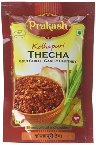 Prakash, Kolhapuri Thecha (Red Chilli- Garlic Chutney), 100 Grams(gm) ()