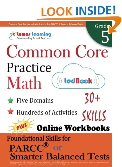 Common Core Mathematics Grade 5: Amazon.com
