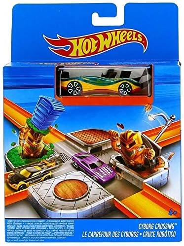 Mattel Hot Wheels Playset Cruce de los Cyborgs: Amazon.es ...