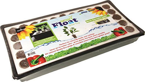 Hydrofarm JSEF55 Smart Float Grow Tray with Plugs (Plugs Gro Ready)
