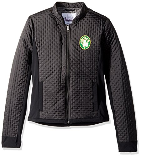 Touch by Alyssa Milano NBA Boston Celtics Lead Off Jacket, X-Large, (Boston Celtics Warm Up Jacket)