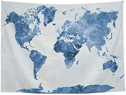 Dricar Tapiz Mapa Mundi - Tapiz de Pared 230 x 180cm, Tapiz ...