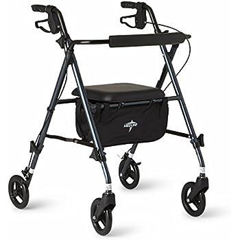 Amazon.com: OasisSpace - Andador vertical ligero con soporte ...