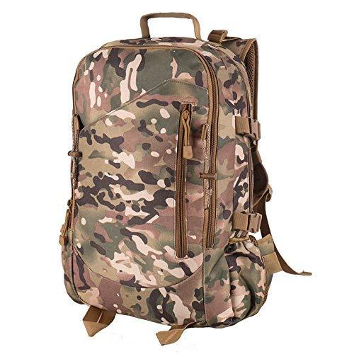 BEI Outdoor-Rucksack Outdoor Bergsteigen Rucksack, Männer und Frauen Universal Camouflage Camouflage Camouflage Tactical Rucksack, verschleißfest, wasserdicht, Wandern 40L Large-Capacity-Rucksack B07HP4NTRD Wanderruckscke Keine Begrenzung zu üben ee7d42