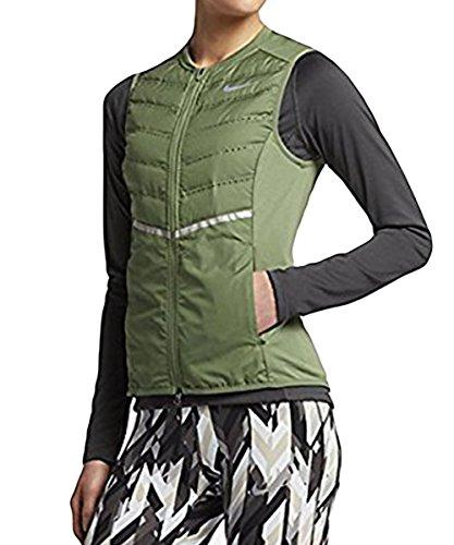Women's Nike Dri-Fit Aeroloft Vest Palm Green 799849-331 - Nike Fit Mapped Dri