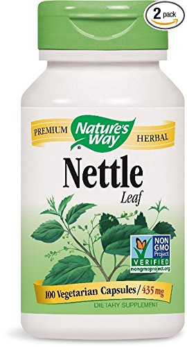 Nature's Way Nettle Leaf, 100 Capsules (Pack of 2)