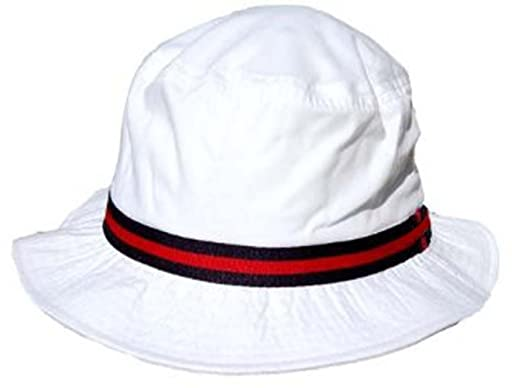 d93a61192 Dorfman Pacific Cotton Water Repellent Traditional Rain Bucket Hat, Xlarge,  White