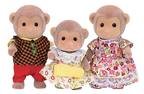 Critter Monkey - Calico Critters CC1489 Mango Monkey Family Doll Set