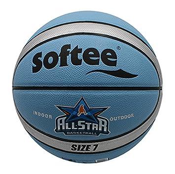 Softee 80654.B04 Balón de Baloncesto, Blanco, S: Amazon.es ...