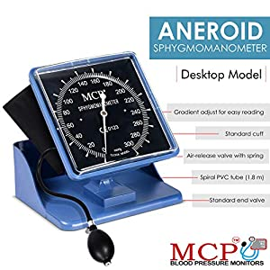 MCP Desktop Clock BP Machine for Home