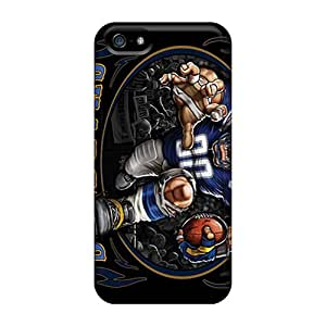 New Premium Flip Cases Covers San Diego Chargers Skin Cases For Iphone 5/5s