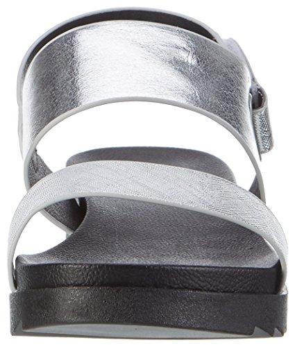 Blink Bl 1343 Breeval - Sandalias con cuña Mujer plateado (silver)