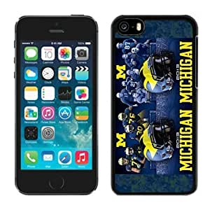 Customized Iphone 5c Case Ncaa Big Ten Conference Michigan Wolverines 4