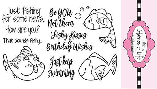 The Stamps of Life Clear Stamps, fish2stamp