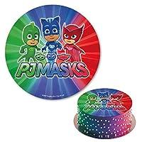 PJ® Masks - Decoración para tarta de azúcar comestible, redonda, 20 cm Producto