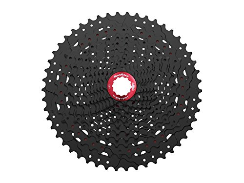 Sunrace 12-speed 11-50T cassette freewheel CSMZ90 WA5 wide ratio MTB in Black with RD extender by JGbike (Image #7)