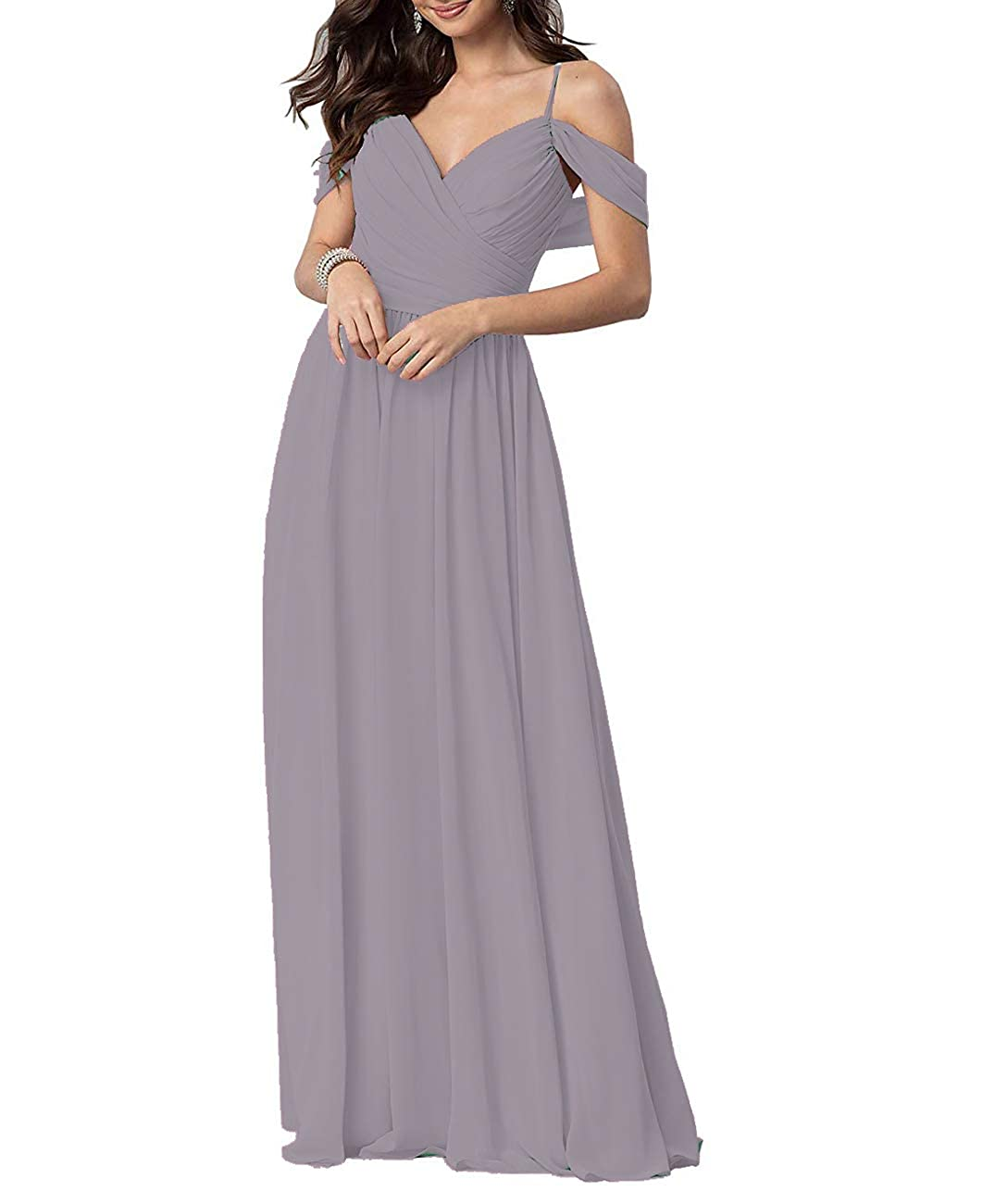 Cameo Long Prom Gown and Evening Dresses for Women OffTheShoulder Bridesmaid Dresses
