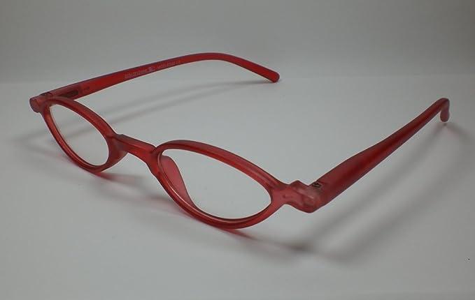 Look and see Designer occhiali da lettura + 3,5diop. Rosso Lui & Lei da lettura Flex cinghia tracolla di alta qualità