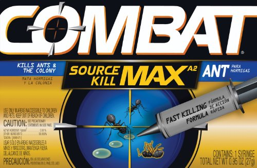 Combat 97306 Source Kill MAX Ant Killing Gel, 27g Tube