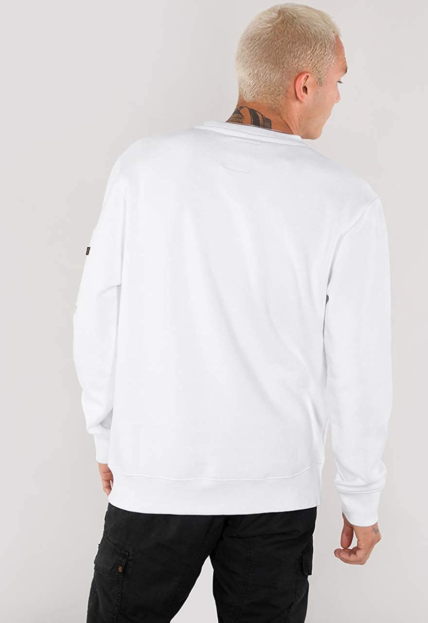 ALPHA INDUSTRIES Sweater Camo Bar Grey Heather