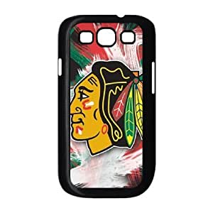 Samsung Galaxy S3 I9300 Chicago Blackhawks Logo pattern design Cell Phone Case HJCBL1272425