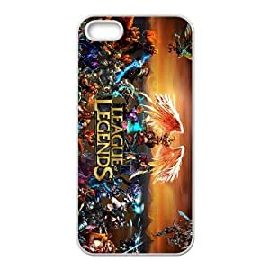 League Of Legends For iPhone 5, 5S Csae protection phone Case FX241236