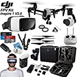 "DJI Inspire 1 V2.0 FPV ""Birds Eye"" Bundle: Includes Zeiss One VR Headset, SanDisk 32GB Ultra MicroSD Memory Card and more..."