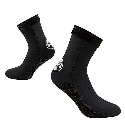 7023de1ce229 DiNeop Neoprene Socks 3MM Diving Fin Socks Wetsuit Scuba Booties for Men  Women Kids Youth