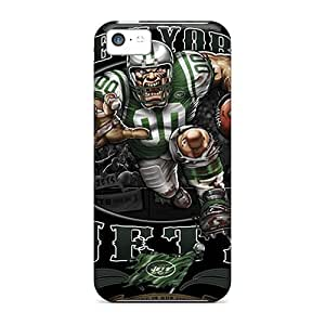 LJF phone case PJY424uZvz Tpu Case Skin Protector For iphone 5/5s New York Jets With Nice Appearance