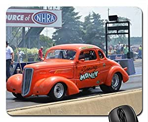 Chevy Hotrod Orange Classic Mouse Pad, Mousepad by runtopwell