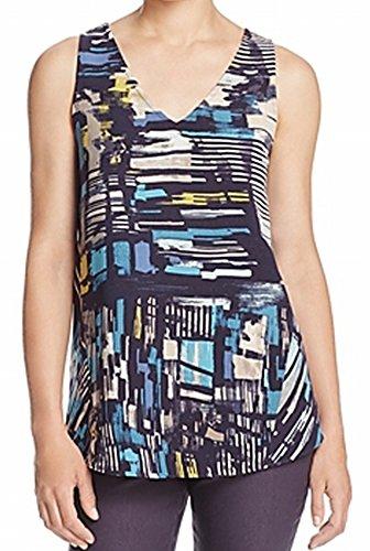 NIC+ZOE Women's Artisan Block Layer, Multi, Small (Block Zoe)