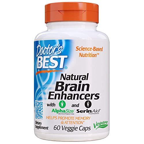 Doctor's Best Natural Brain Enhancers, Non-GMO, Vegan,