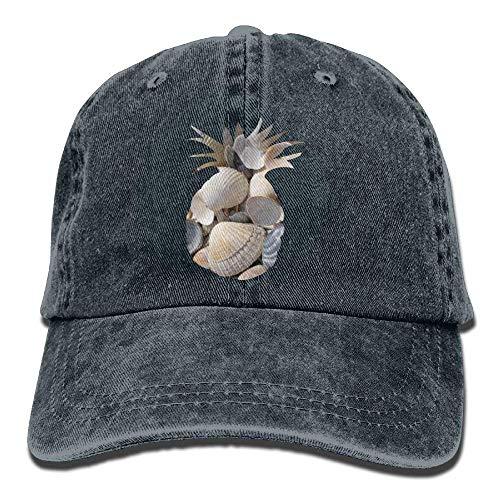 Pattern Gorras Hat Shell Female Adjustable Baseball of Hats Curved hanbaozhou Pineapple Denim béisbol tdnqSwR0A