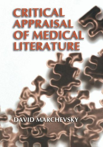 Download Critical Appraisal of Medical Literature Pdf