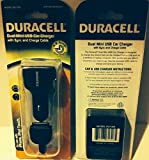 Dual Mini USB New Car Charger Sync and Charge Cable Duracell