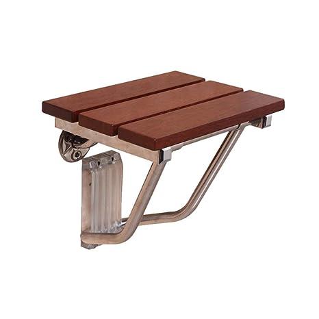 YINUO-Barandilla Panel de Madera Maciza Silla Plegable Silla ...