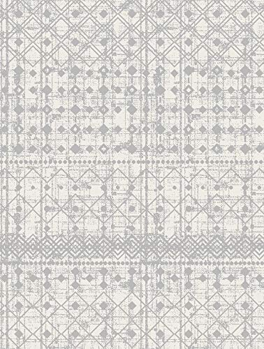 Rugshop Trellis Bohemian Design Geometric Area Rug 7'10