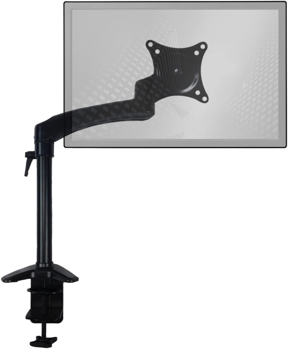 Home Concept Monitor Arm Desk Mount Black