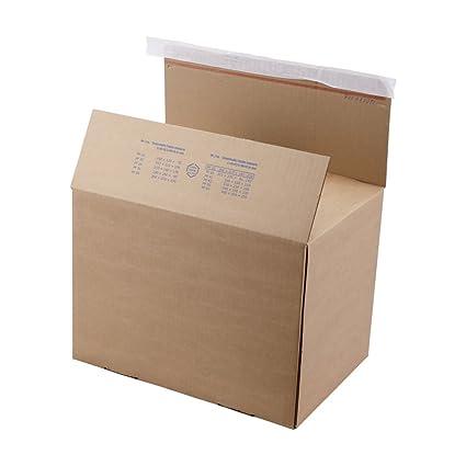 20 x Envío, Cajas de Cartón Plegable, cartón packfix ...