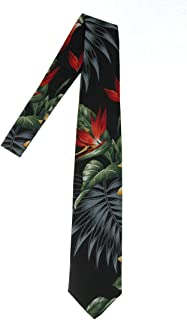 product image for Hawaii Neckties, Black Paradise Flower