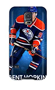 Fashionable CAEIWmO1227jiUXs Galaxy S5 Case Cover For Edmonton Oilers (49) Protective Case