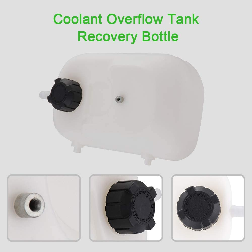 SCITOO 4773849 Coolant Reservoir Bottle Coolant Overflow Tank Fits for 1984 1985 1986 1987 1988 1989 1990 Jeep Cherokee